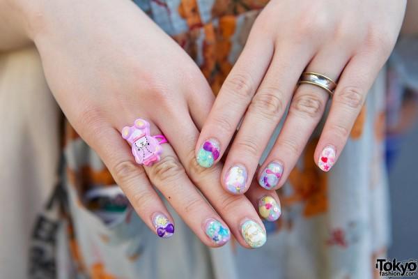 Harajuku nail art