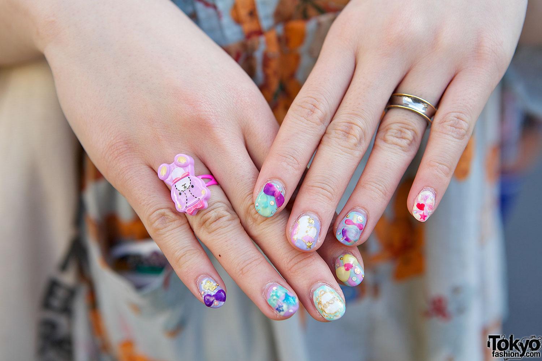 Harajuku nail art – Tokyo Fashion News