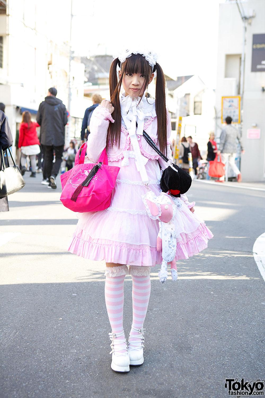 Harajuku Lolita W/ Twintails, Hangry & Angry, Frill And