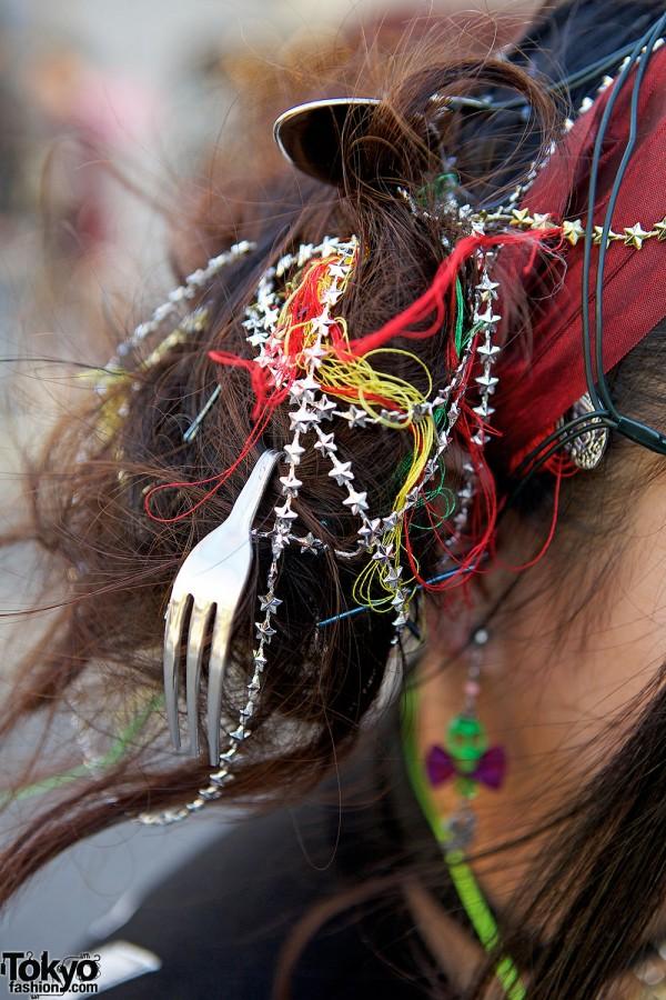 Fork fashion accessories