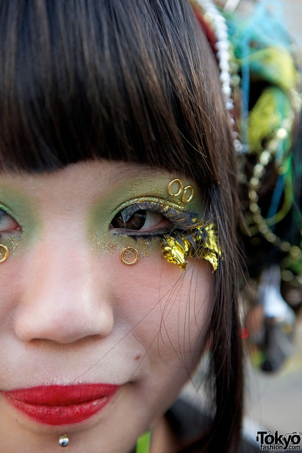 Gold Leaf Eye Lashes