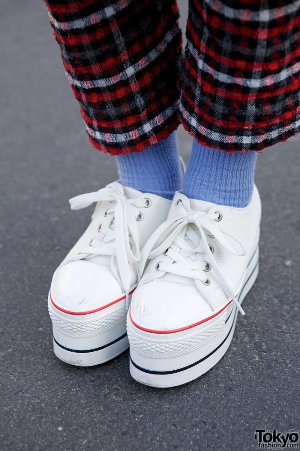 Lowtop platform Sneakers