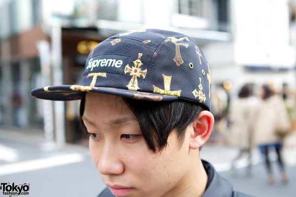 Supreme cross cap