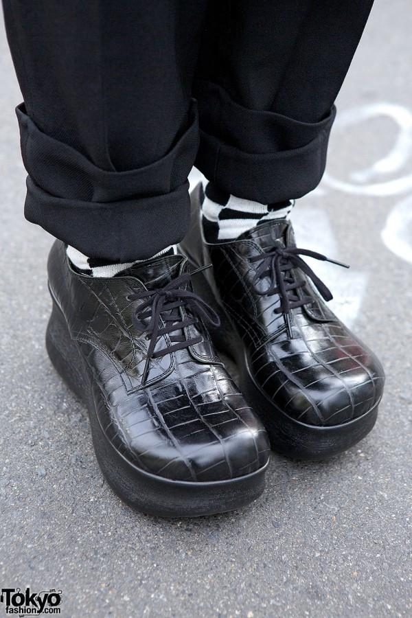 Comme des Garcons Homme Plus shoes