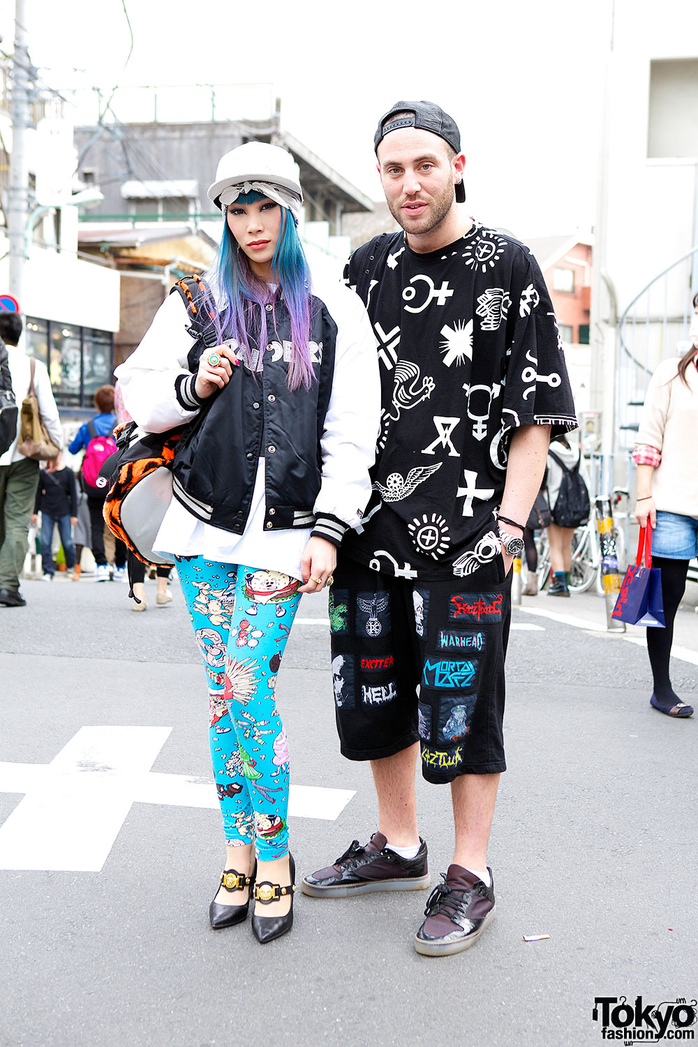 Mademoiselle yulia in jeremy scott giza on the street in harajuku w ktz 39 s mathew Japanese fashion style icon