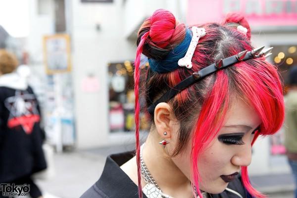 Bone hair accessories