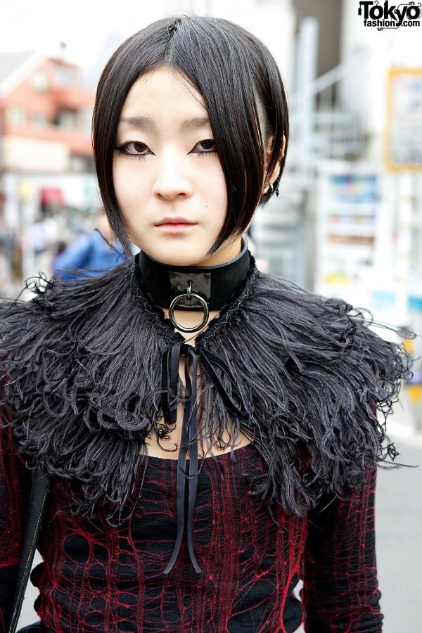 Alice Auaa Feathers Collar