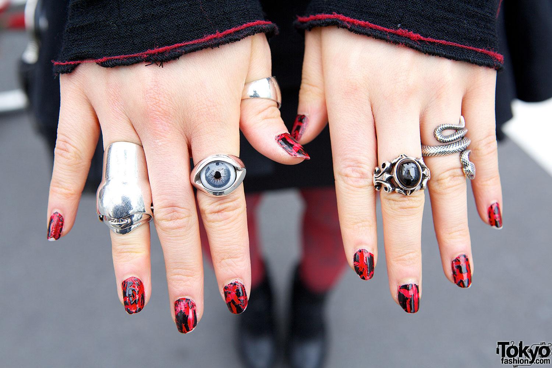 Nail Art & Rings – Tokyo Fashion News