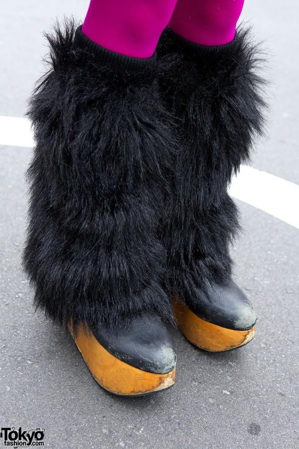 Vivienne Westwood Shoes & Leg Warmers