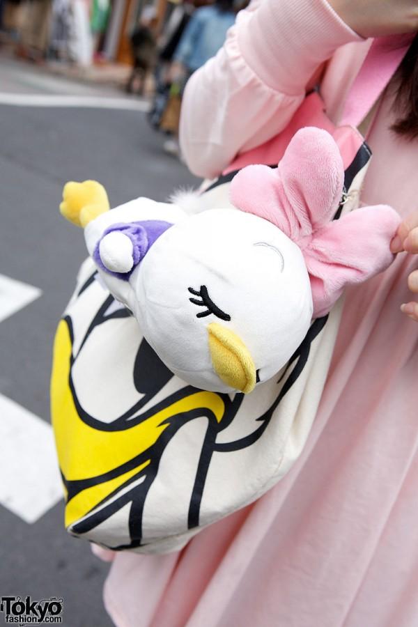 Daisy Duck Tote Bag
