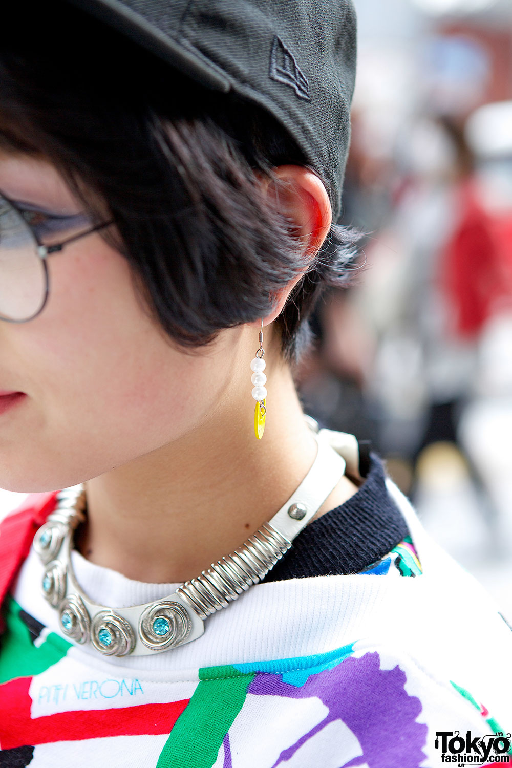 boots givenchy glasses dq21  Yellow earrings