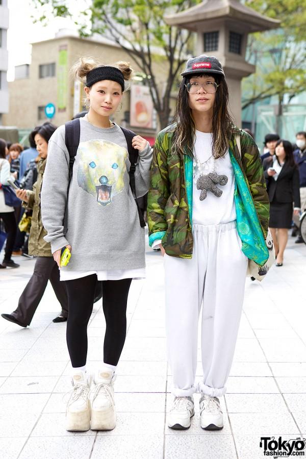 Harajuku Streetwear Duo