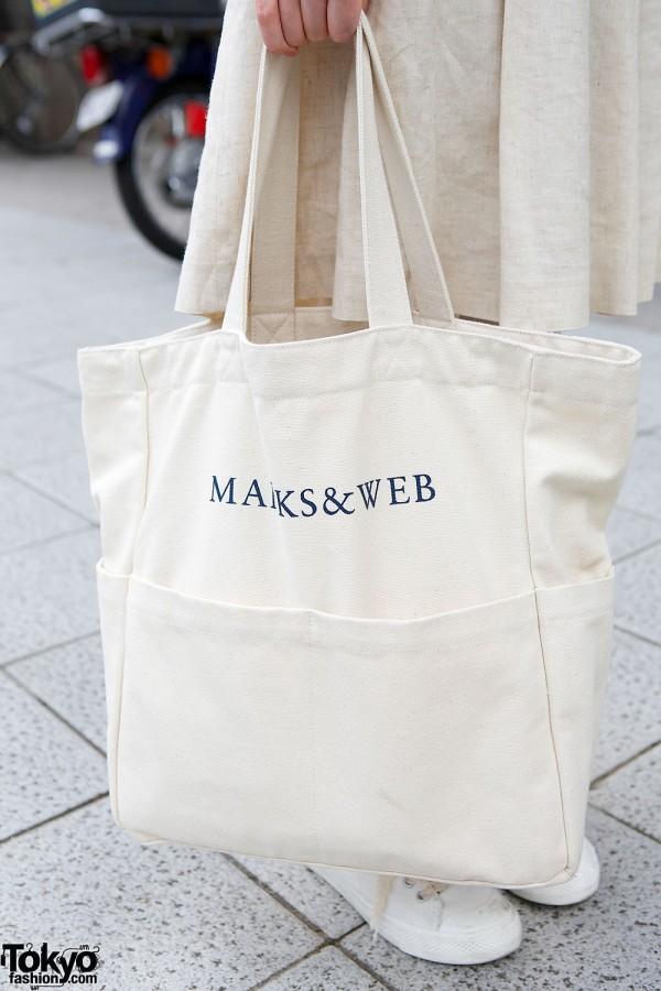 Marks & Web bag