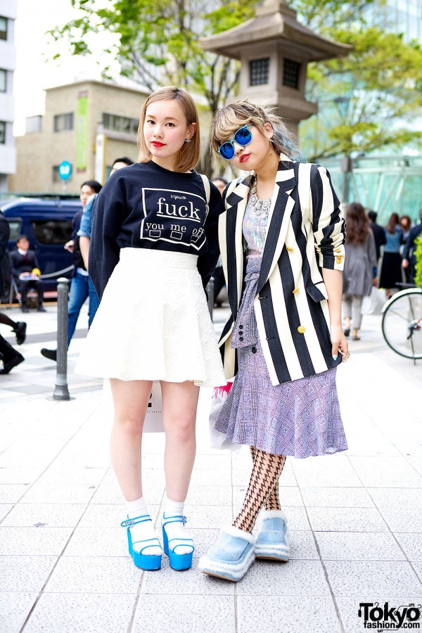 Harajuku girls in style icon tokyo fig viper kawi jamele chanel Japanese fashion style icon