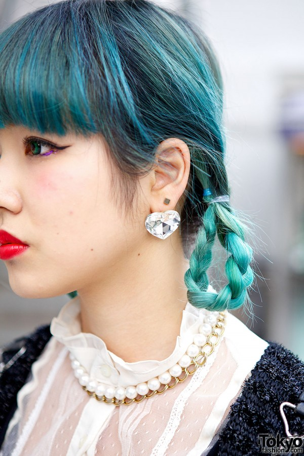 Avantgarde Harajuku Heart Earrings