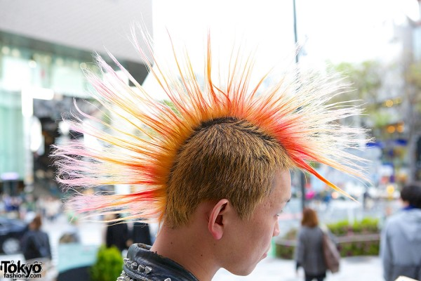 Big Japanese Punk Mohawk