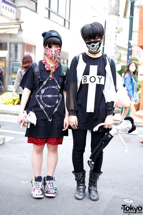 K-pop Fans w/ Face Masks, Boy London, Frankenweenie & Itazura Toy Sneakers
