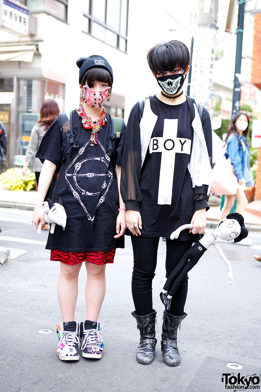 K Pop Fans W Face Masks Boy London Frankenweenie Itazura Toy Sneakers