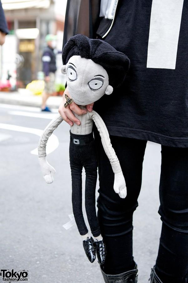 Frankenweenie Victor Plush Tokyo Fashion News