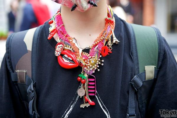 Tokyo Heart Necklace