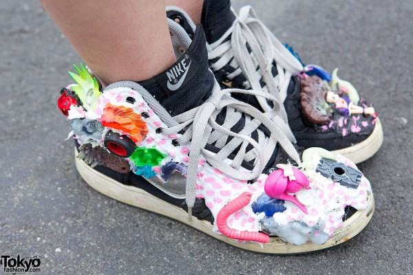 Nike Sneakers With Toys