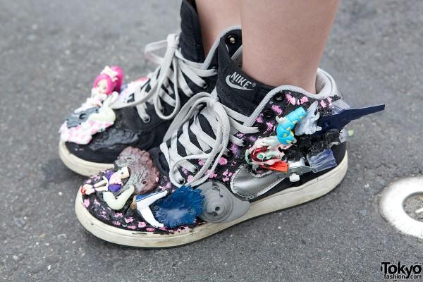 Customized Nike Sneakers