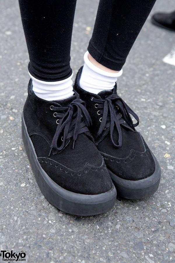Tokyo Bopper Suede Shoes