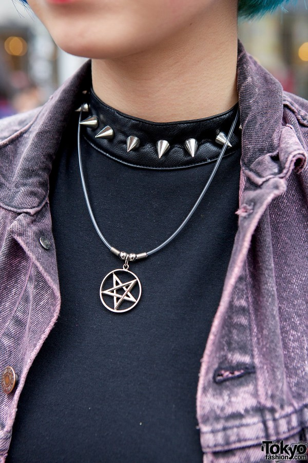 Star Necklace in Harajuku