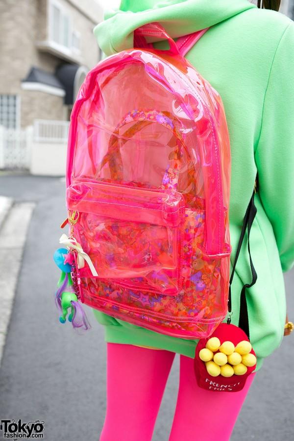 Nadia Clear Backpack