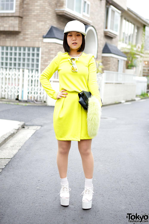 H&M Neon Dress