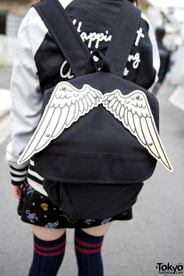 Bunkaya Zakkaten Winged Backpack