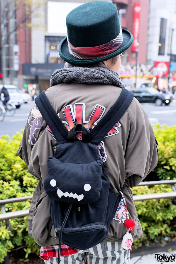 Cat Backpack in Harajuku