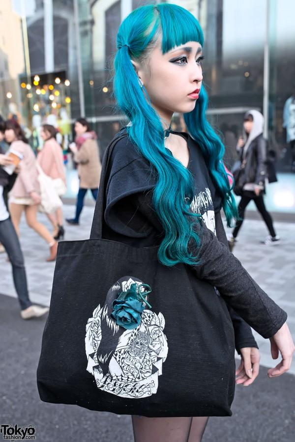 Psycho Apparel Bag Harajuku