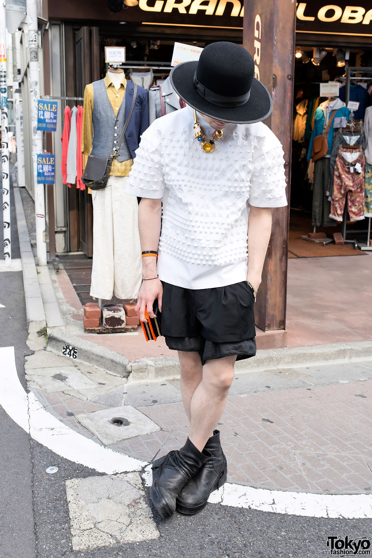 Juun.J Fashion in Harajuku