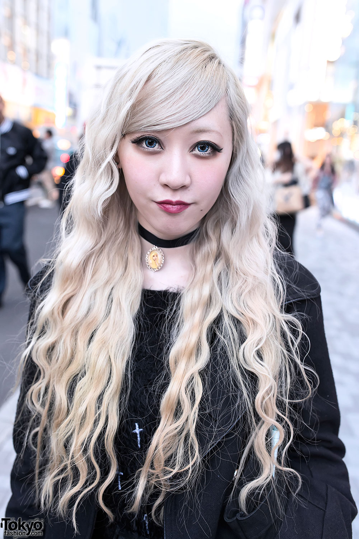 Blonde-Haired Harajuku...