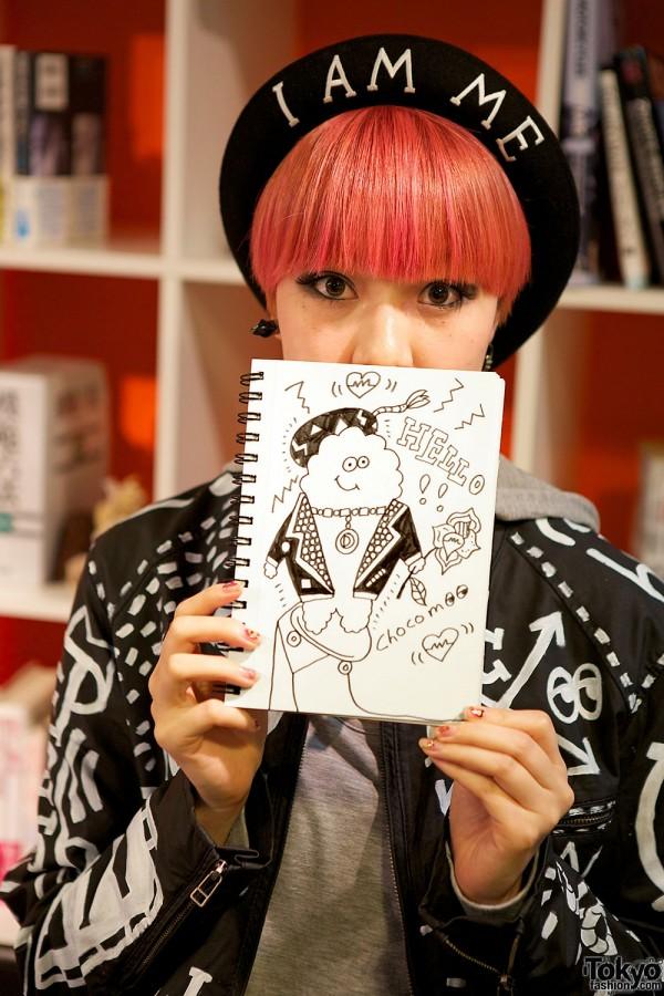 Japanese Artist Choco Moo