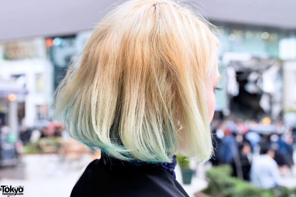 Green Under Dyed Hair