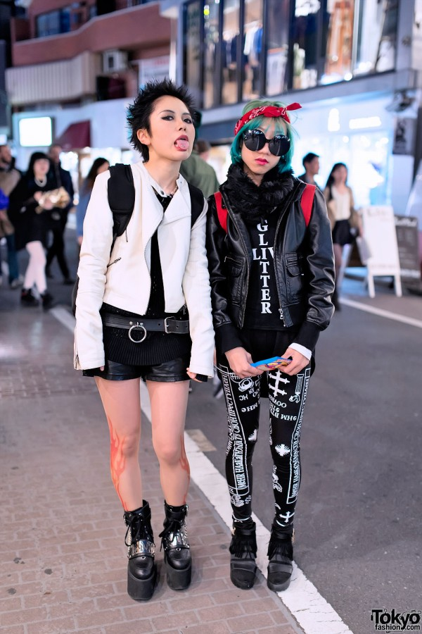 Bunka Fashion College Students in Harajuku