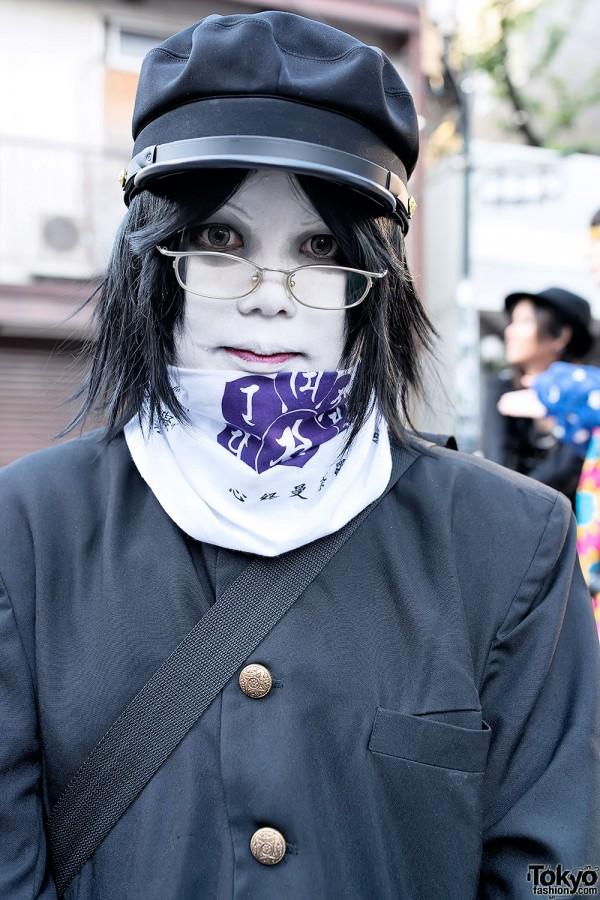 Japanese Shironuri With Glasses