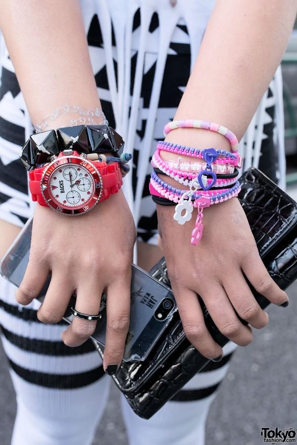 Zip Bracelets & Studs