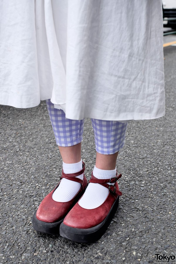 Gingham & Tokyo Bopper Shoes