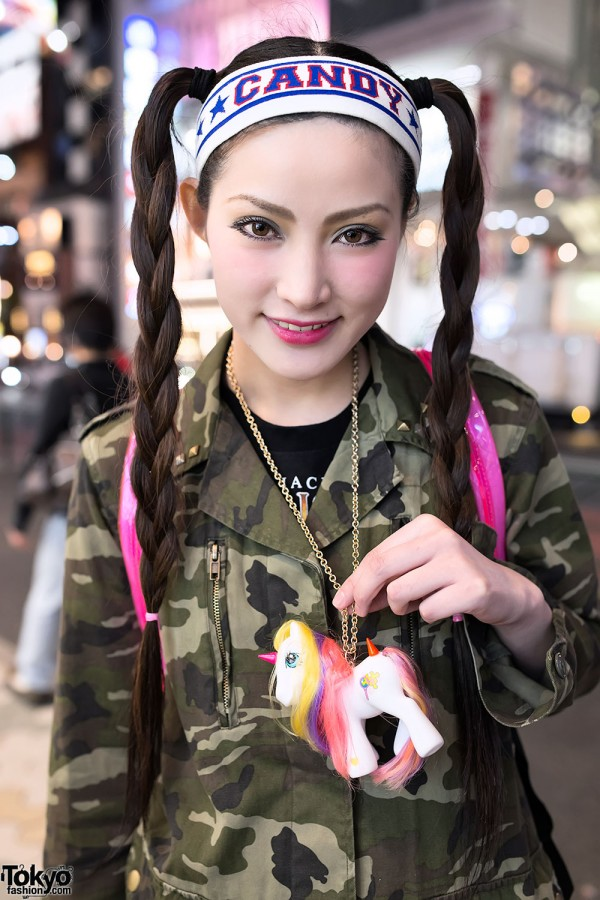 Harajuku Sisters W/ My Little Pony Candy Stripper & Nadia.