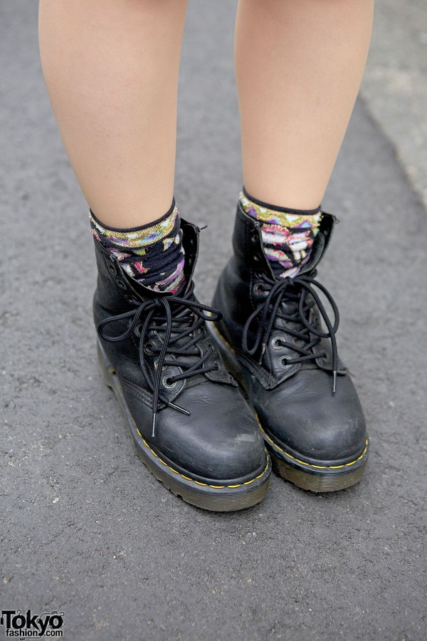 Lace-up Boots in Harajuku