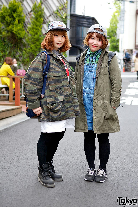 Harajuku Military Jackets