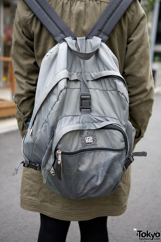 Vans Backpack Tokyo Fashion News