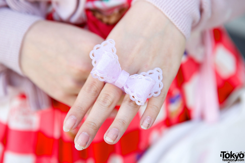 Sweet Lolita Bow Ring Tokyo Fashion News