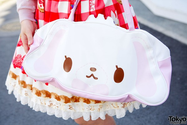 Kawaii Japanese Puppy Bag