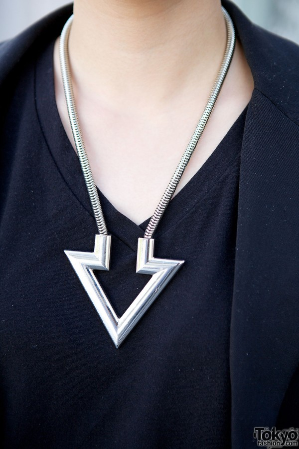 Geometric Forever21 Necklace