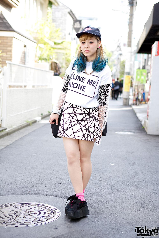 Blue Dip Dye Hair Quot Celine Me Alone Quot Amp Tokyo Bopper In