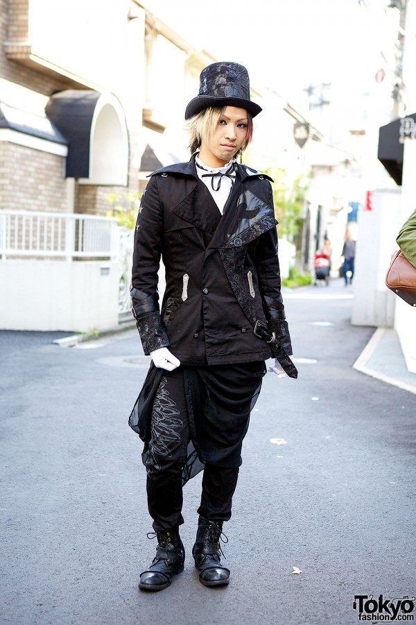 h.NAOTO Street Fashion in Harajuku